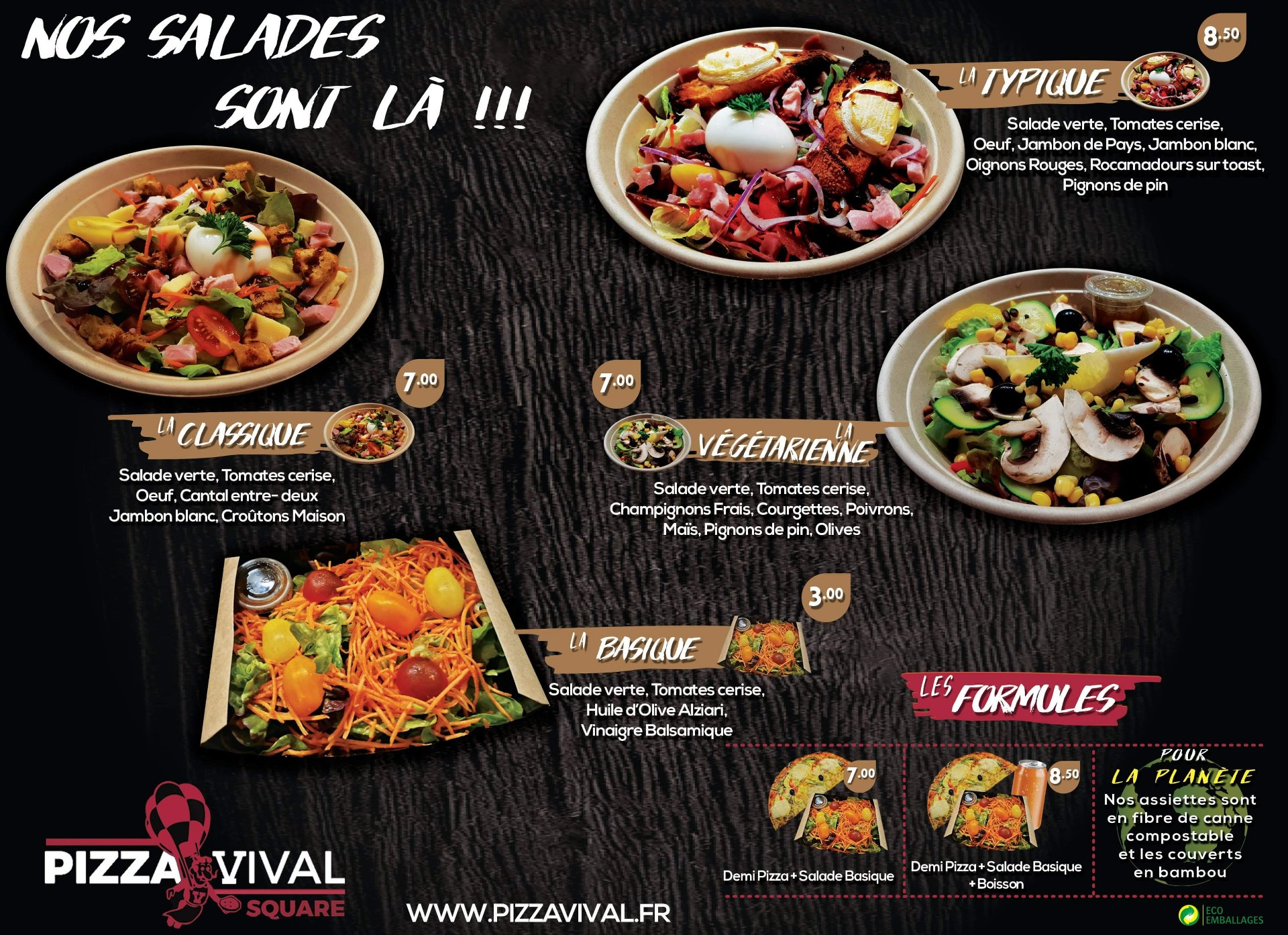 Pizza Vival Square